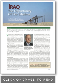 Oil and Gas Investor Magazine article about DijlaNet